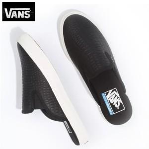 バンズVansヴァンズ靴スニーカー サンダルUA Mule SF Slip Croc Shoes Black黒ブラック
