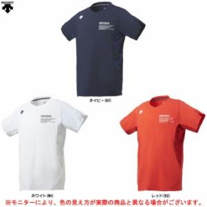 DESCENTE(デサント)半袖プラクティスシャツ(DVUMJA50)バレー バレーボール トレーニング プラシャツ 半袖 Tシャツ レディース