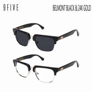 サングラス 9FIVE BELMONT BLACK & 24k GOLD ナインファイブ/スケート/眼鏡/メガネ