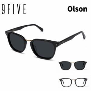 サングラス 9FIVE OLSON BLACK&24K GOLD ナインファイブ スケート 眼鏡 メガネ
