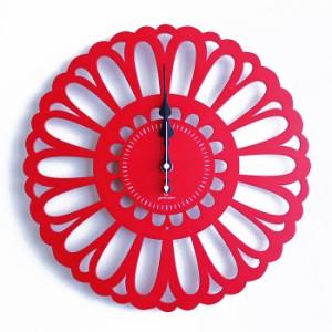 ヤマト工芸 MARGUERITE 全7色 YK13-102 壁掛け時計 マーガレット 木春菊 シンプル モダン おしゃれ かわいい 掛け時計 掛時計 ウォールク
