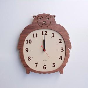 ヤマト工芸 CLOCK ZOO ヒツジ 羊 YK14-003 壁掛け時計 アニマル動物 子供部屋 シンプル モダン おしゃれ かわいい 掛け時計 掛時計 ウォ