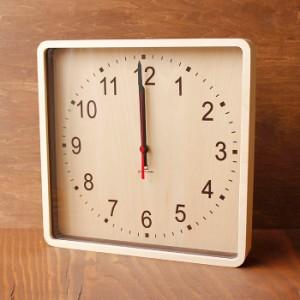 ヤマト工芸 ROUND CLOCK-WALL ブラウン YK15-103 壁掛け時計 シンプル モダン おしゃれ かわいい 掛け時計 掛時計 ウォールクロック CLOC
