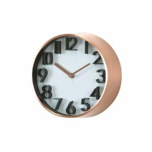 スパイス EDGE UNIVERSAL TELR1060CP カッパー 壁掛け時計 シンプル モダン おしゃれ かわいい 掛け時計 掛時計 ウォールクロック CLOCK