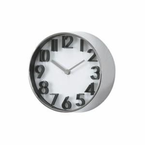 スパイス EDGE UNIVERSAL TELR1060SV シルバー 壁掛け時計 シンプル モダン おしゃれ かわいい 掛け時計 掛時計 ウォールクロック CLOCK