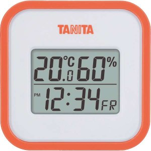 【3%OFF】タニタ デジタル温湿度計<オレンジ> TT558OR[ギフト 引き出物 引出物 結婚内祝い 出産内祝い引越し ご挨拶 お返し 粗供養