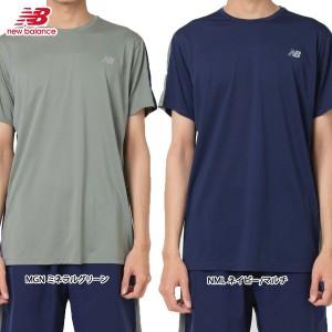 409d5cdb1f666 ランニングウェア メンズ ニューバランス NEWBALANCE アクセレレイト ショートスリーブ Tシャツの画像