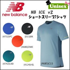 c118931d39d48 ランニングウェア Tee ニューバランス NEWBALANCE NB ICE v2ショートスリーブTシャツの画像