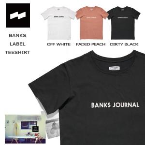 カジュアル アパレル バンクス BANKS LABEL 半袖 Tシャツ