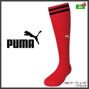 ●PUMA【プーマ】ジュニアストッキング PMJ-901394 ジュニア (05)プーマレッド/ブラック