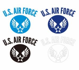 ミリタリー ステッカー US AIR FORCE アメリカ空軍 世田谷ベース エアフォース アメリカン 車 バイク おしゃれ かっこいい アウトドア ス