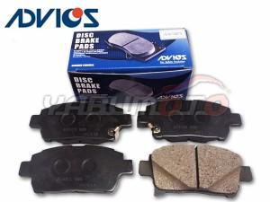 ビスタ ZZV50 ZZV50G フロント ブレーキパッド ADVICS アドヴィックス