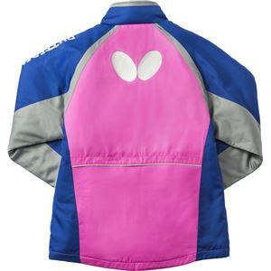 バタフライ(Butterfly) 男女兼用ウォームアップ ファンプリ・ウォームジャケット 45050 ロゼ XO