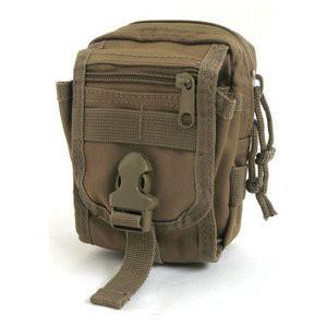 多機能 MO LLEバッグ 対応防水布使用ポーチ BP062YN コヨーテ ブラウン
