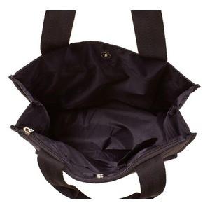 軽量・ナイロン素材のキルティング縦型手提げバッグ IK4551 チャ