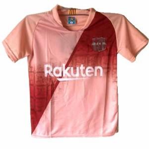 81ae2ddd257c7d 子供用 K134 19 バルセロナ ピンク ゲームシャツ パンツ付 /サッカー/キッズ/ジュニア