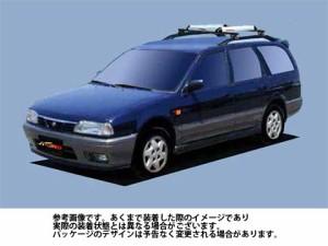 システムキャリア 日産 NISSAN アベニール 型式 W10 RA4 ルーフ標準 1台分 タフレック TUFREQ ニッサン