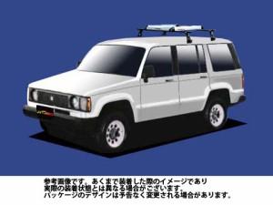 システムキャリア イスズ ISUZU ビッグホーン 型式 UBS系 RA4シリーズ 1台分 標準 タフレック TUFREQ
