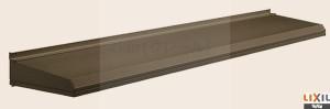 LIXIL ユニット ひさしキャピアA型 関西間 A08303 W1154mm×D350mm 【後付け 】【日除け】 【雨水】 【庇】【リクシル 】【トステム】