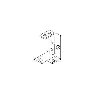 【YKK AP メンテナンス部品】 母屋ブラケット (HHK1-3294)