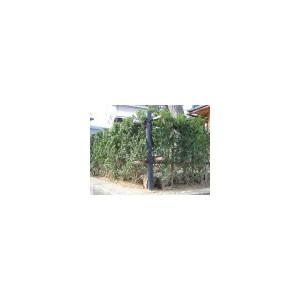 【樹脂製杭/融雪器具】 樹脂製杭 擬木杭:φ55×600mm 16本入り