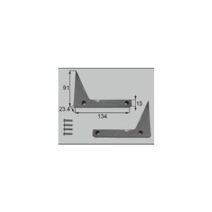 リクシル 窓・サッシ用部品 その他 ストッパー:ストッパー4枚用 FNMZ239  LIXIL トステム メンテナンス