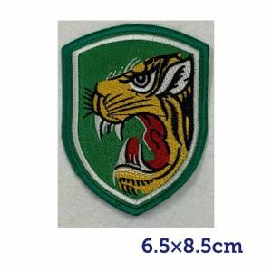 韓国 軍隊 ワッペン 猛虎師団 ウドファン 韓流 グッズ lf001-15
