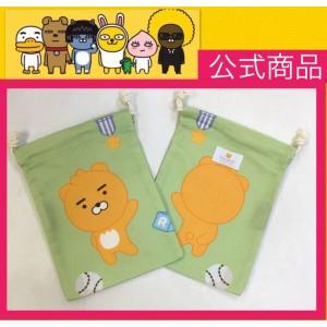 【送料無料】  リトルライアン 巾着 KAKAOFRIENDS カカオフレンズ 韓流 グッズ tq023-1