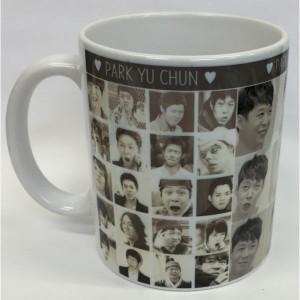 【全国送料無料】ユチョン マグカップ  韓流 グッズ(cb001-11)