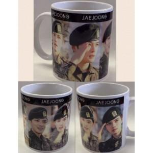 【全国送料無料】ジェジュン JAEJOONG 軍隊 JYJ マグカップ  韓流 グッズ cb002-29