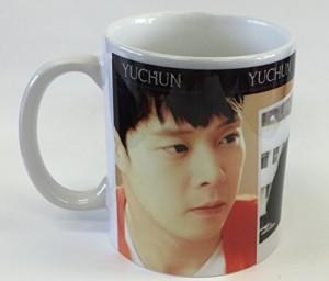 【全国送料無料】ユチョン マグカップ  韓流 グッズ