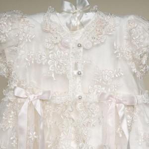 87690224b0dee  3ヶ月-24ヶ月 ベビードレス アイボリードレス 女児ワンピース 3点セット お祝い七五三初節句 赤ちゃんドレス 子ども