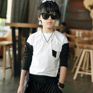 Tシャツ クルーネック 長袖Tシャツ 長袖 Tシャツ 子供服 男の子
