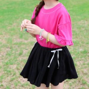 子供 スカート プリーツスカート フレアスカート 子供服 子供 女の子 女児 キッズ ジュニア