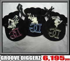 GROOVE DIGGERZ(グルーブディガーズ)ネームロゴネックレス/GD(3色)【B系/HIPHOP/アクセ】