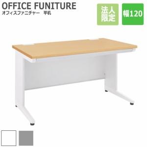 OFFICE FUNITURE オフィスファニチャー 平机 幅120cm (デスク オフィス 机 フリー 平机 SOHO 事務所 シンプル 作業 法人限定 スチール