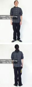 リー Lee #200 ストレート ジーンズ ダブルブラック (STRAIGHT LEG JEAN DOUBLE BLACK)