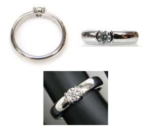 ティファニー TIFFANY&Co. ジュエリー 指輪 ダイヤモンドドッツリング Pt950 0.25ct #11【中古】(26291)