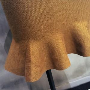 送料無料マーメイド  ハイウエスト フレアニットスカート ニットフレアスカート ミニ レディース デニムタイトスカート ZOKO