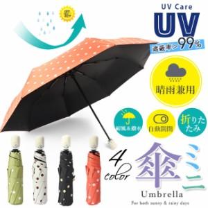 日傘 晴雨兼用 折りたたみ 完全遮光 自動開閉 遮蔽率>99.9% 遮熱uvカット 防水 汚れに強い 軽量 折りたたみ日傘 傘 おしゃれ かわいい