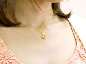 ネックレス ダイヤモンドネックレス ペアネックレス ペアペンダント ダイヤモンド ペンダント イエローゴールドk18 18金 ダイヤ カップル