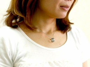 ネックレス ペアネックレス ダイヤモンド ペンダント ホワイトゴールドk18 ダイヤ リングネックレス 18金 18k チェーン 人気 ストレート