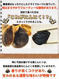 熟成 黒にんにく 青森県産 青森加工 30g 1パック入り 約5日分 お試し 送料無料 メール便 ポイント消化