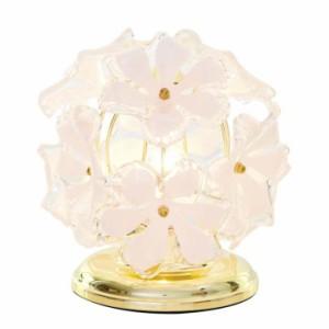 【送料無料】テーブルライト【ペンダントライト】卓上 寝室 LED電球 照明 ピンク 花 フラワー モチーフ 花びら 灯 光 テーブルランプ