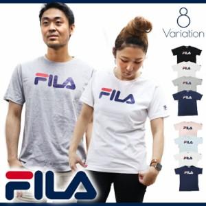 【還元祭クーポン対象】FILA フィラ Tシャツ メンズ レディース 半袖 ブランド 人気 ペアルック カップル おそろい 姉妹 親子 大きいサイ