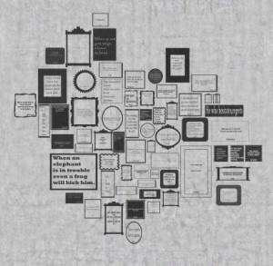 輸入壁紙 貼ってはがせる壁紙 MR PERSWALL【6巾】ミスターパースウォール communication コミュニケーション  Express Myself フリース壁