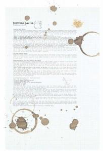 輸入壁紙 貼ってはがせる壁紙 MR PERSWALL【4巾】ミスターパースウォール communication コミュニケーション Bread Talkフリース壁紙 不