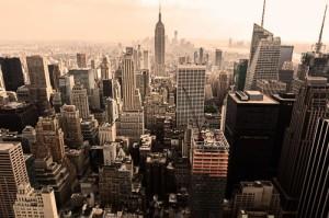輸入壁紙 貼ってはがせる壁紙 MR PERSWALL【9巾】ミスターパースウォール NewYork Memories ニューヨークメモリーズ Midtown フリース壁