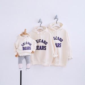 裏起毛パーカー トレーナー フード付き 家族お揃い 親子 ペアルック 子供 パーカー メンズ 上着 レディースパーカー キッズ 子供服