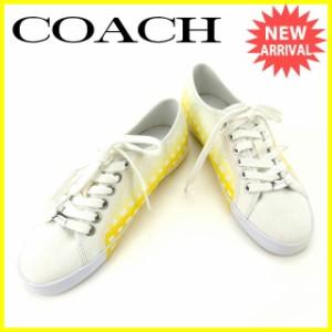 588ccac6579e コーチ COACH スニーカー シューズ サイズ レディース 【中古】 T14838